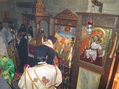 Τελέστηκε η ιερά αγρυπνία πάντων των εν Μητροπόλει Μόρφου αγίων ανδρών και γυναικών