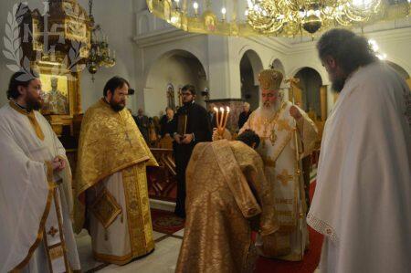 Αρχιερατική Θεία Λειτουργία Ι.Ν.Αγίου Γεωργίου Φιλύρου