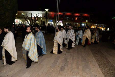 Ο Λεμεσού Αθανάσιος χοροστάτησε στον Μητροπολιτικό ναό Αγίου Γεωργίου στο Παραλίμνι