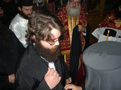 Μονή Κουδουμά: Χειροθετήθηκε Δόκιμος Μοναχός ο Αλέξανδρος Βιολάκης