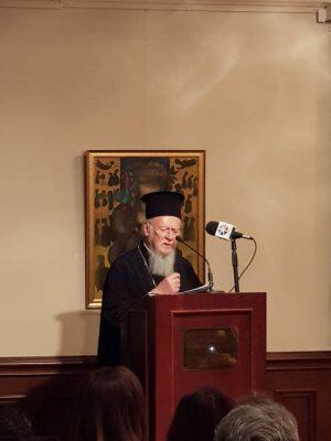 Οι Ίμβριοι τίμησαν σήμερα τον Ίμβριο Οικουμενικό Πατριάρχη