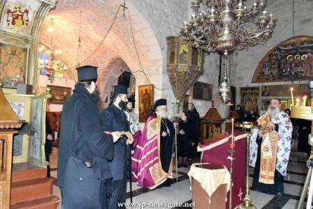 Λαμπρή Εορτή του Αγίου Αντωνίου στο Πατριαρχείο Ιεροσολύμων