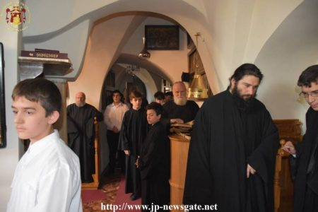 Η Πρώτη Προηγιασμένη της Μεγάλης Τεσσαρακοστής στο Πατριαρχείο Ιεροσολύμων