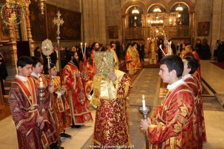 Κυριακή της Ορθοδοξίας στα Ιεροσόλυμα-μοναδικές εικόνες