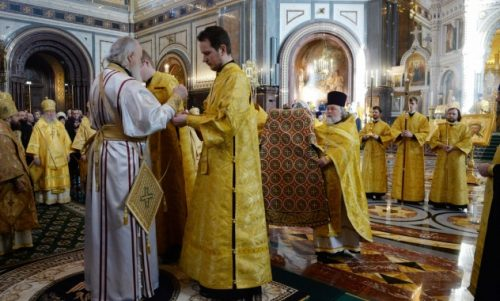 Μόσχα: Κυριακή της Ορθοδοξίας στον Ιερό Ναό του Σωτήρος