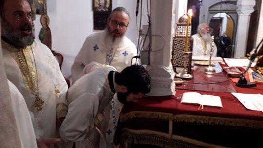 Χειροτονία Πρεσβυτέρου Ανδρέα Χρίστου από τον Μακαριώτατο Αρχιεπίσκοπο Κύπρου