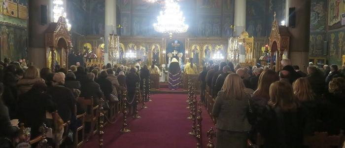 Α΄ Χαιρετισμοί-Φθιώτιδος Νικόλαος: «Η Παναγία είναι η μόνη βεβαία προστασία μας»