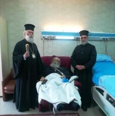 Τον Σινά Δαμιανό επισκέφθηκε ο Αλεξανδρείας Θεόδωρος