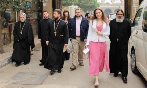 Αντιπροσωπεία του Συνοδικού Τμήματος Εκκλησιαστικής Ευποιΐας και Κοινωνικής Διακονίας επισκέφθηκε την Αίγυπτο