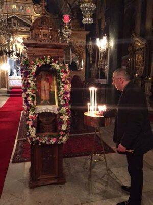 Νιχώρι: Η Αγρυπνία του Αγίου Νεομάρτυρος Θεοδώρου του Βυζαντίου