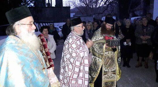 Πανηγυρικός εσπερινός Αγίου Χαραλάμπους στον Ι. Ναό Μεταμορφώσεως Ζαγοράς