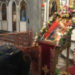 Κοσμοπλημμύρα στην Κατερίνη από νέο κόσμο για την προστάτιδα των ατέκνων ζευγαριών, Παναγία Εγκυμονούσα