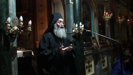 Αρχιμ. Χρυσόστομος Μυλωνάς: «Ο Τίμιος Σταυρός είναι το πολίτευμά μας!»