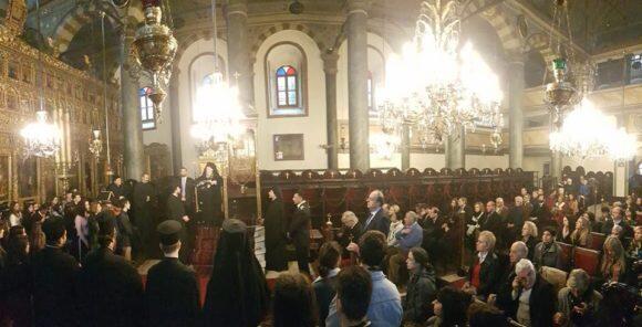 Φανάρι: Δ΄ Χαιρετισμοί στον Ιερό Πατριαρχικό Ναό