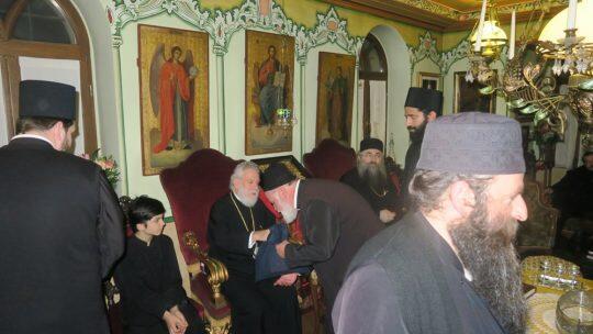 Άγιο Όρος-Τώρα: Στην Μονή Εσφιγμένου ο Σύρου Δωρόθεος