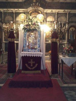 Στη Χαλκίδα η Θαυματουργή Εικόνα του Αγίου Ιωάννη Πρόδρομου από τα Κατούνια
