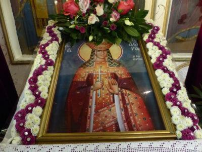 Η Αγία Θεοδώρα Βασίλισσα της Άρτης εορτάστηκε στους Αμπελόκηπους