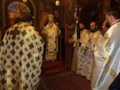 Κυριακή της Σταυροπροσκυνήσεως στην Ι. Μονή Παναγίας Φανερωμένης Χιλιομοδίου