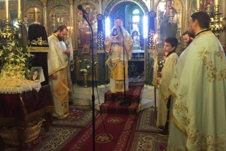 Χαλκίδα: Κυριακή Δ΄ Νηστειών στον Ι. Ναό Κοιμήσεως της Θεοτόκου Βασιλικού