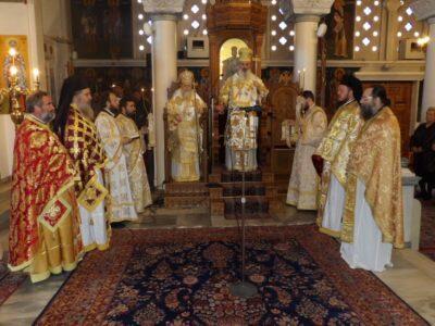 Δισαρχιερατική Θ. Λειτουργία στον Ιερό Ναό Αγίου Νικολάου Κορίνθου