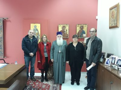 Συνάντηση Δημητριάδος Ιγνατίου με τον Σύλλογο Τριτέκνων