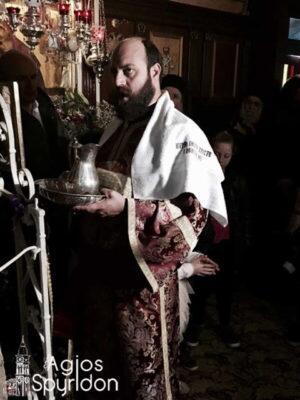 Χειροτονία διακόνου Άγγελου Κοντούτση στην Ι.Μ. Κερκύρας
