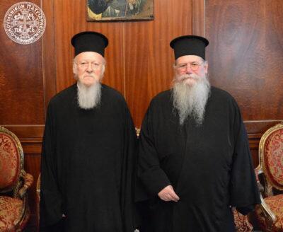 Ο Φιλίππων Στέφανος στον Οικουμενικό Πατριάρχη