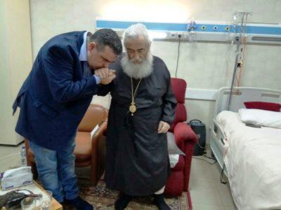 Eπίσκεψη του Κυβερνήτη Σινά στον Αρχιεπίσκοπο Δαμιανό