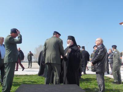 Ο Διδυμοτείχου Δαμασκηνός στην ορκωμοσία των νεοσυλλέκτων στα Κέντρα Υποδοχής Πλάτης, Λαγού, Καβύλης και Σουφλίου