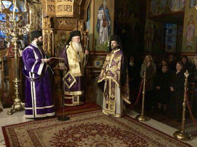 Προηγιασμένη Θεία Λειτουργία στον Ναό Αγίας Τριάδος Βαγίων