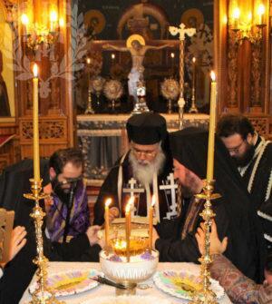 Αρχιερατικό Ευχέλαιο στον Ιερό Ναό Αγίου Δημητρίου Διαβατών