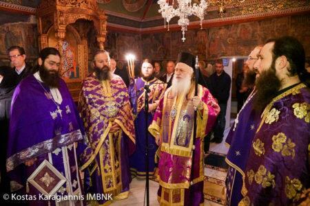Μονή Αγίων Πάντων Βεργίνας: Η εορτή του Οσίου Χριστοδούλου του εν Πάτμω