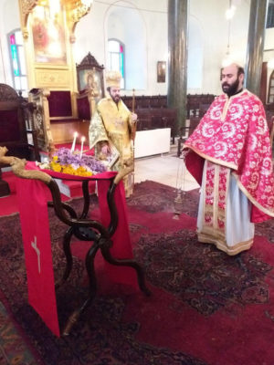 Κυριακή της Σταυροπροσκυνήσεως σε Υψωμάθεια και Σμύρνη