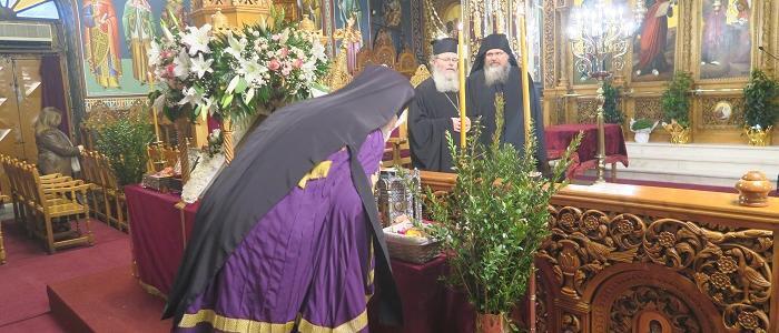 Φθιώτιδος Νικόλαος: Η Παναγία δεν θα επιτρέψει ποτέ να γίνουμε βορά των εχθρών μας