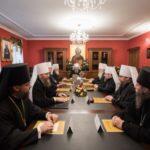 Συνεδρίαση της Ιεράς Συνόδου της Ορθοδόξου Εκκλησίας της Ουκρανίας