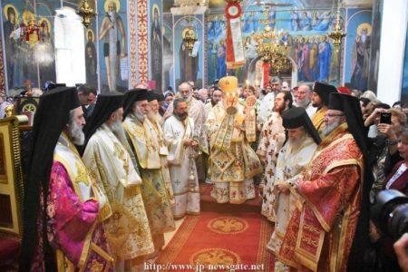 Η Εορτή του Αγίου Γερασίμου στο Πατριαρχείο Ιεροσολύμων