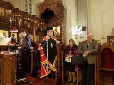 Κύπρος: Χαιρετισμοί Β΄ Στάση στην Αγία Παρασκευή Λακατάμειας