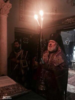 Προηγιασμένη Θεία Λειτουργία στο Ι. Προσκύνημα του Αγίου Σπυρίδωνος