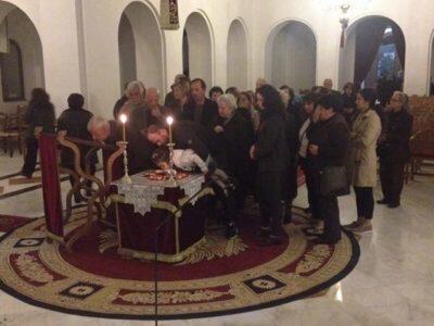 Αρκαλοχώρι: Ακολουθία του Μεγάλου Κανόνος στον Ιερό Ναό Αγίου Ανδρέα Κρήτης