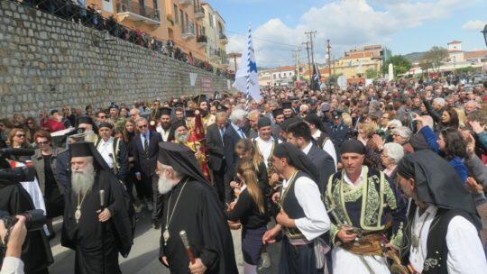 Συγκλόνισε με τον Επιβατήριο Λόγο του Ο Μάνης Χρυσόστομος στην τελετή ενθρονίσεως