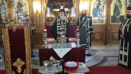 Αρχιερατικό Ευχέλαιο στον Ιερό Ναό Αγίων Θεοδώρων Συκεών