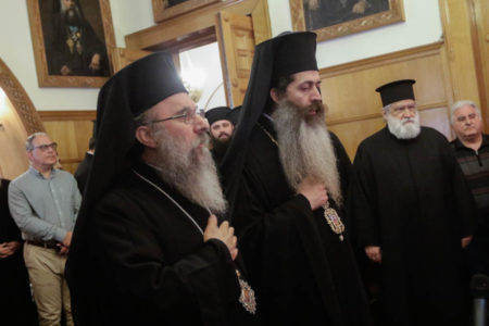 Η διαβεβαίωση των νέων Επισκόπων Θεσπιών και Ανδρούσης