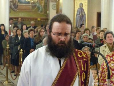 Κληρικοί της Καστοριάς στο πλευρό του Αρχιμ. Γεώργιου Ράνιου για την απώλεια της μητρός του