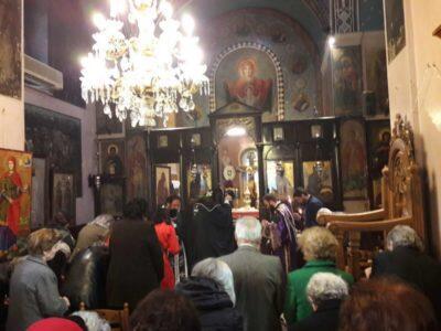 Χαλκίδα: Εορτή Αγίων Χρυσάνθου και Δαρείας στη Μέσα Παναγίτσα