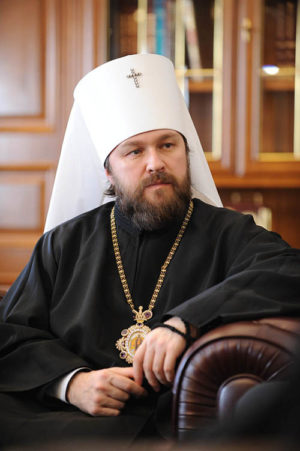 Ιλαρίων: Η Εκκλησία της Ρωσίας δεν εμπλέκεται στην προεκλογική προπαγάνδα