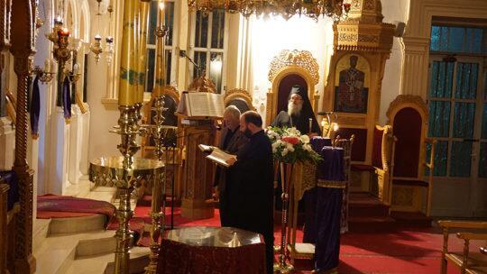 Η Ακολουθία του Μεγάλου Κανόνος στον Ιερό Ναό Αγίου Γεωργίου Μοιρών