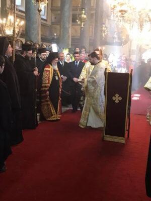 Οικουμενικό Πατριαρχείο-ειδήσεις: Κυριακή της Σταυροπροσκυνήσεως