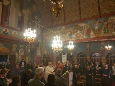 Ρόδος: Δ΄ Χαιρετισμοί στον Ιερό Ναό Αγίου Τρύφωνος