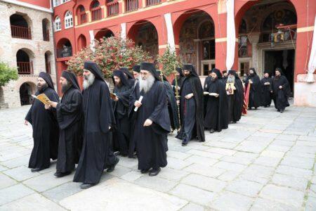Άγιο Όρος: Η Εορτή του Οσίου Ιωακείμ του Ιθακησίου, του «Παπουλάκη» στη Μονή Βατοπαιδίου
