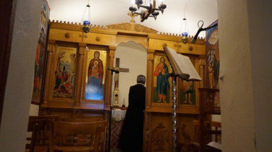 Κάλυμνος: Ο Εσπερινός του Αγίου Λαζάρου στο παρεκκλήσι του Αγίου Μάμαντος